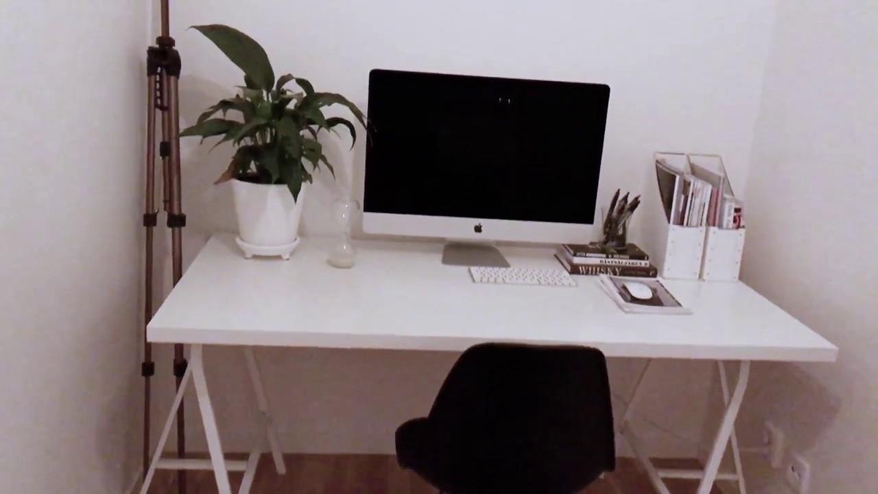 modern minimalist apartment tour 2017 - youtube
