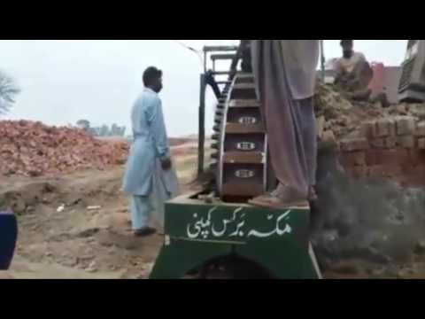 Amazing Brick Making Machine In Pakistan Construction Building Work