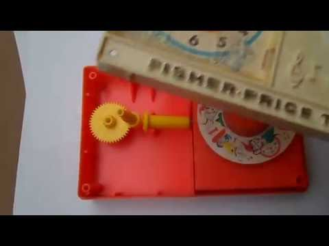 How it's made - Music Box Clock Radio, Fisher-Price #107,  Hickory Dickory Dock