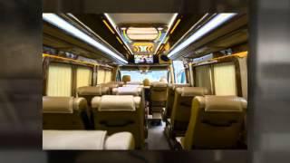 видео Аренда и заказ транспорта  на 50 мест для корпоративов в Москве