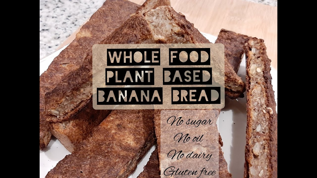 Download Gluten free, sugar free, dairy free banana bread bread.