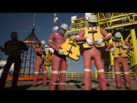 Sapura Kencana Offshore 3D Animation