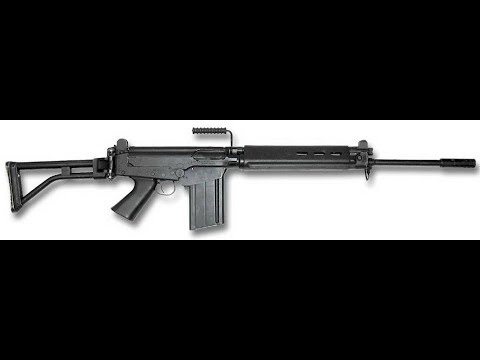 Full Auto R1 assault rifle   South African Police