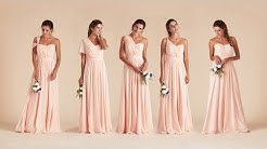 How To Tie Convertible Bridesmaid Dress | Birdy Grey