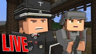 SUBSCRIBE and JOIN! - Minecraft WW2 Map Building!