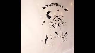 일러스트 패브릭 포스터 벽꾸미기 우주 아트 포스터