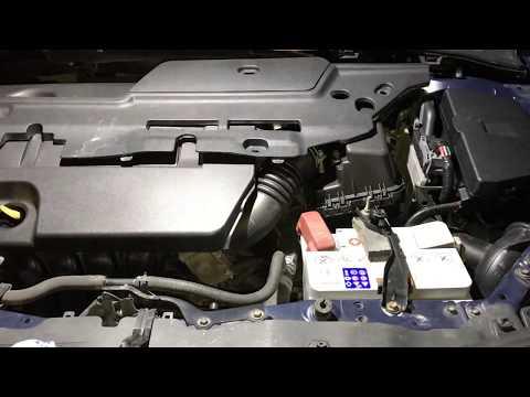 TOYOTA Corolla MMT Снятие актуатора сцепления
