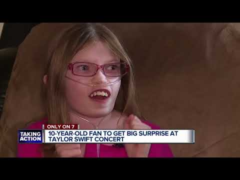 10=year-old fan to get big surprise at Taylor Swift concert