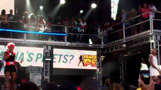 "Vybz Kartel Ft.Sheba @ Reggae Sumfest, Montego Bay 7-21-11 Performing ""You & Him Deh"""