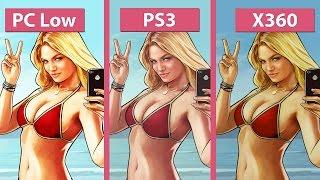 Grand Theft Auto 5 / GTA 5 – PC Min vs. PS3 vs. Xbox 360 Graphics Comparison [60fps][FullHD|1080p]