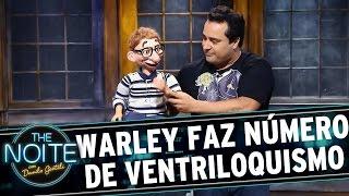 The Noite (19/09/15) - Warley Santana faz número de ventriloquismo