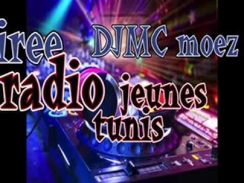 Soiree DJMCmoez Radio jeunes tunis le 26-03-2016
