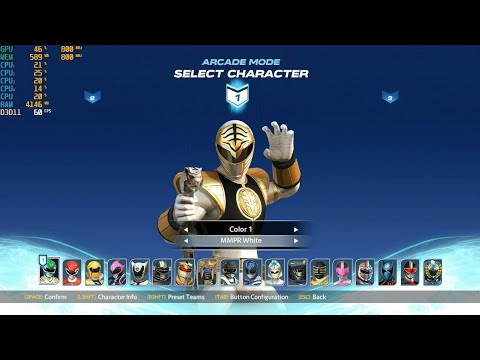 All Character Power Rangers Battle For The Grid PC GAMES