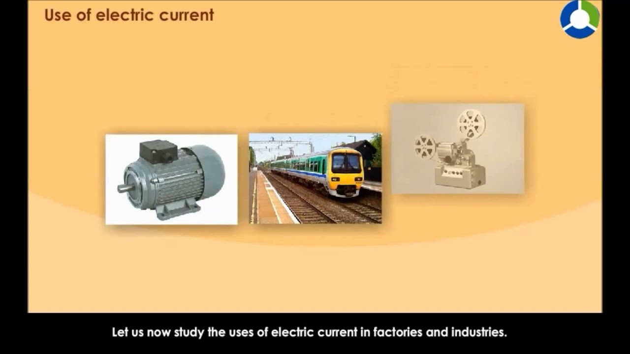 Use of Electric Current - YouTube