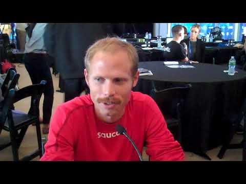 Jared Ward Speaks Before His NYC Marathon Debut