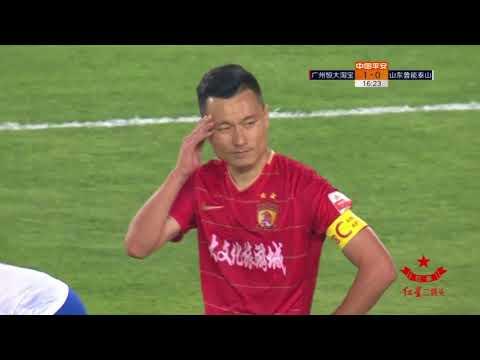 2018 CHA CSL   Round 5   Guangzhou Evergrande Taobao FC vs Shandong Luneng