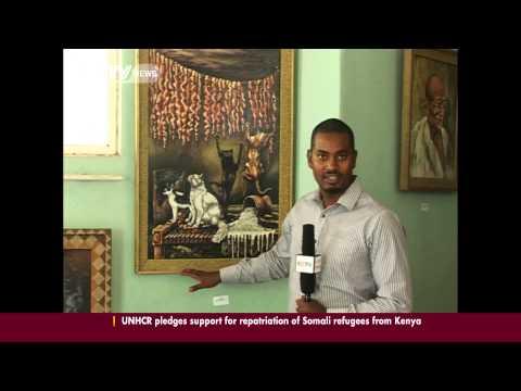 Ethiopia's pro painter, Lemma Guya, talks to  CCTV on his life's work