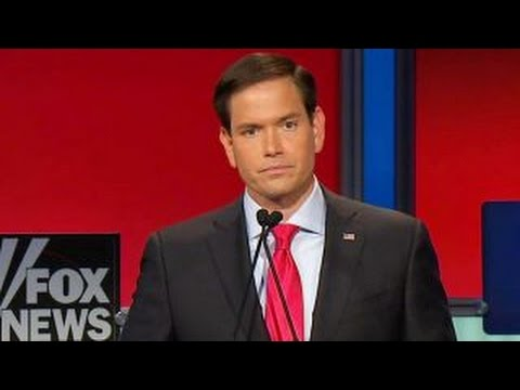 Sen. Marco Rubio defends pro-life position | Fox News Republican Debate