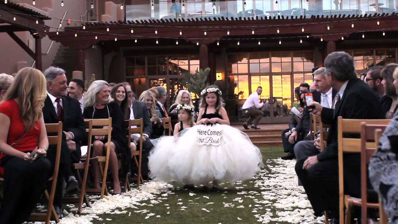 Taylar Brett Wedding At Four Seasons Scottsdale Troon North