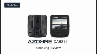 azdome DAB211 Dashcam test  2K with HDR video Sample Review