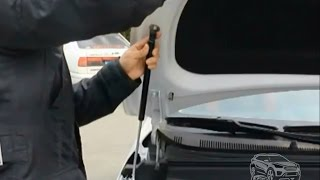 Упоры капота Hyundai Creta