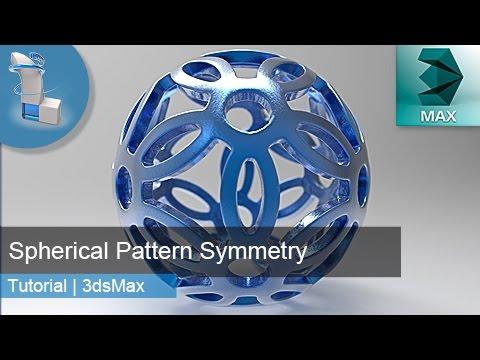 3d Tutorial   Spherical Pattern Symmetry   3dsMax