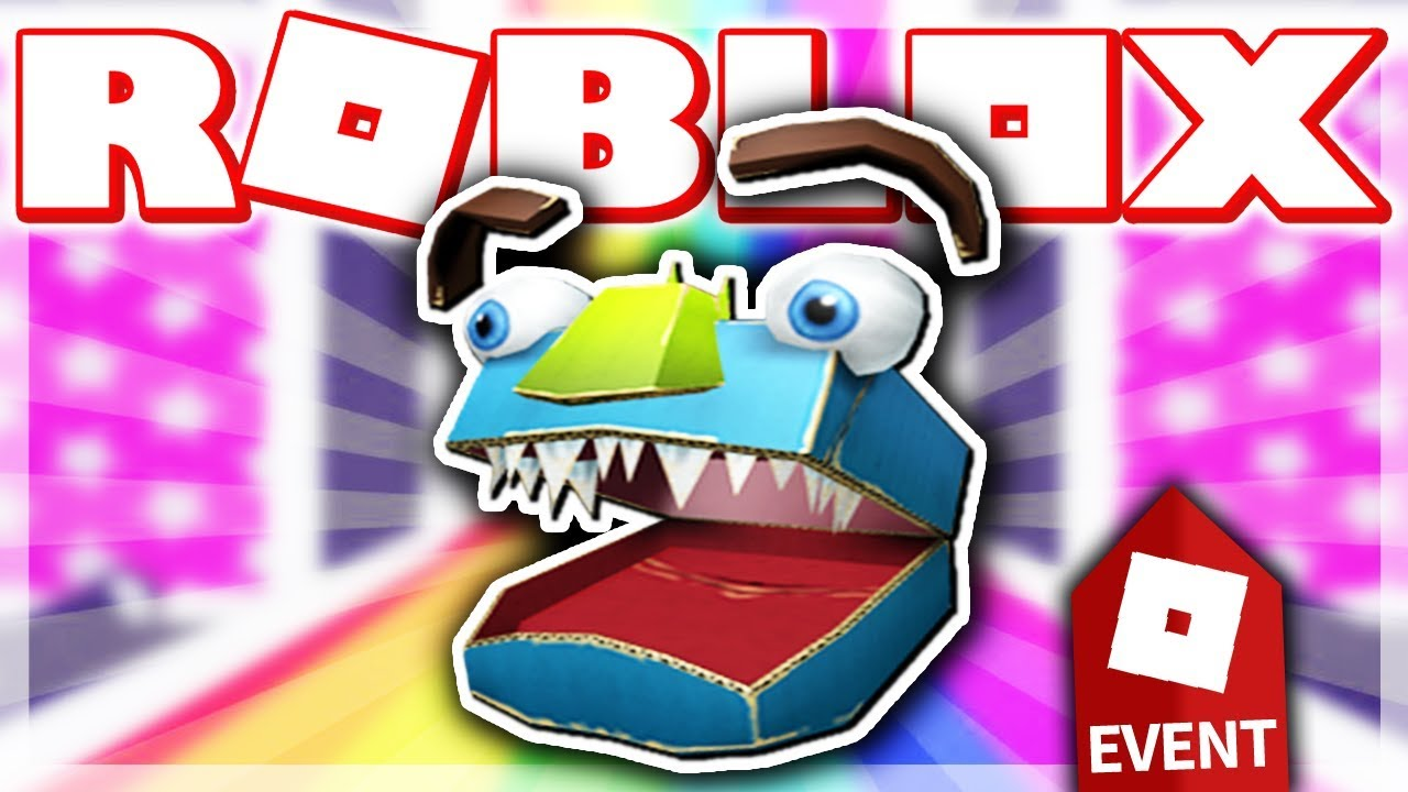 how to get the monstrous cardboard helm    roblox imagi