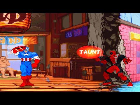 Mugen - Captain America vs Deadpool - 동영상
