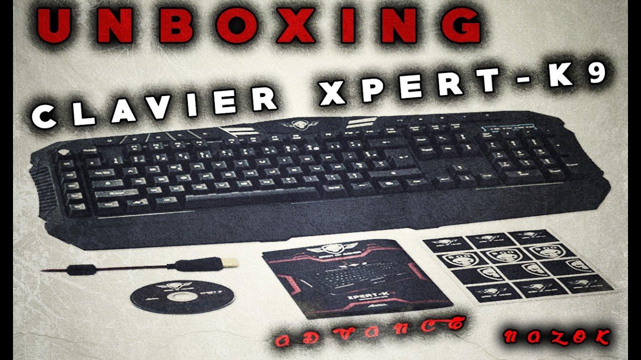 unboxing du clavier xpert k9 de spirit of gamer fr youtube. Black Bedroom Furniture Sets. Home Design Ideas