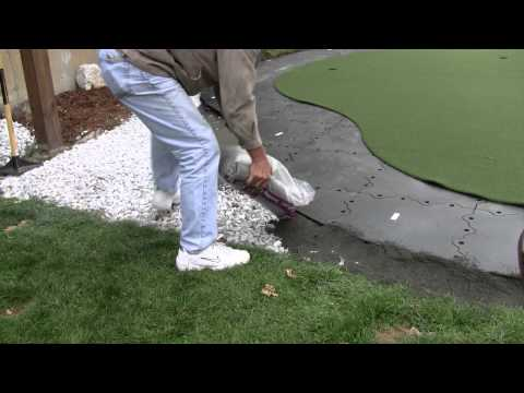 Building A Backyard Putting Green