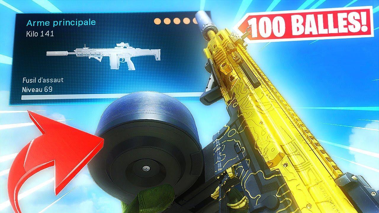 """100 BALLES PAR CHARGEUR... voici comment rendre la """"KILO 141"""" surpuissante sur Warzone !"""