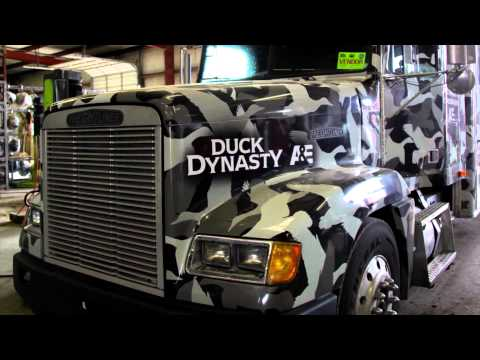 """Duck Dynasty - """"Red"""" Gibson - 50 year client of Consolidated Truck Parts & Service Monroe"""