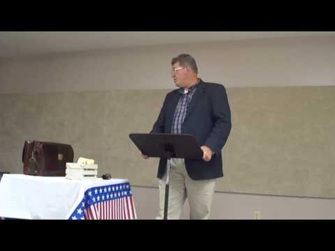 Jeff Cobble's Tenth Amendment Speech to the Greeneville, TN 912 Project