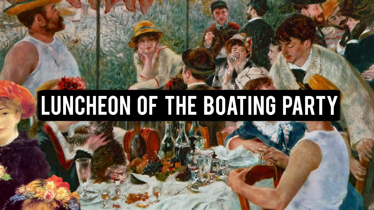 Luncheon of the Boating Party Analysis
