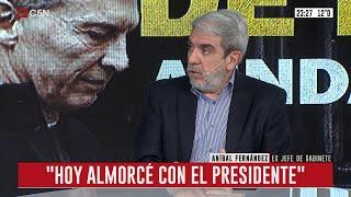 Entrevista a Aníbal Fernández en Conflicto de Intereses (parte 1)