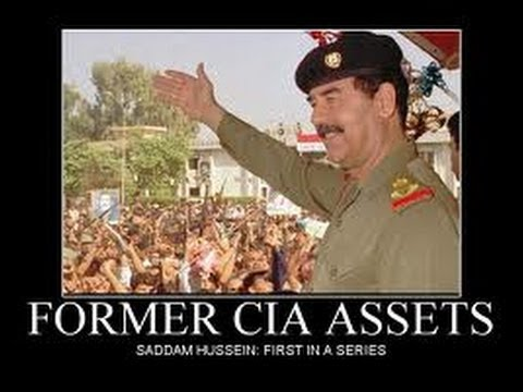 Image result for saddam hussein cia