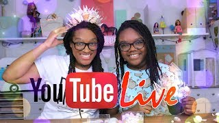 YouTube LIVE with the Froggies DIY MERMAID CROWN Plus Weekly Q&A and Updates thumbnail