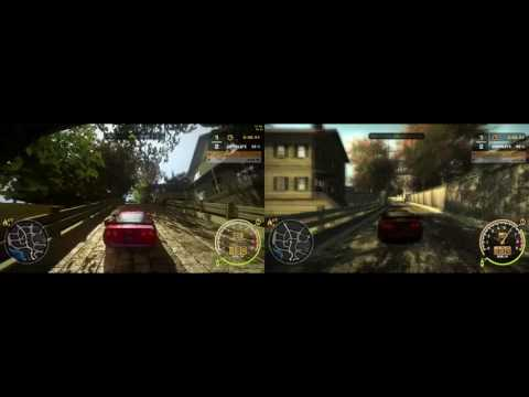 NFS Most Wanted - Eduardo Alonso's Modpack vs Vanilla Side by Side