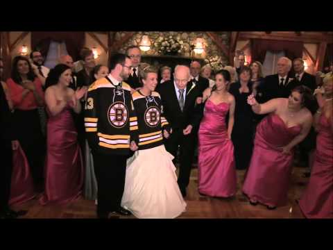 Megan and Timothy's Wedding Day - Bruins Themed!