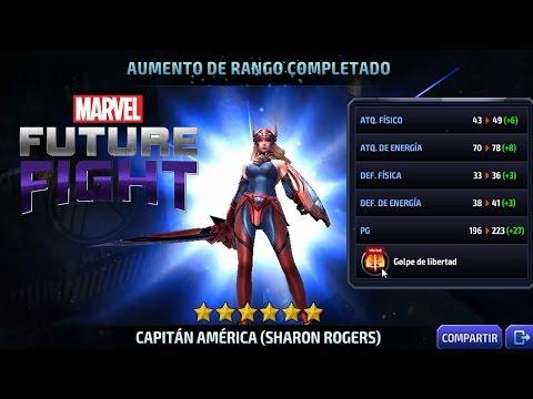 Sharon Rogers 6 Estrellas Marvel Future Fight
