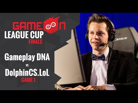 GameOn 2016 LoL CUP Final - Gameplay DNA vs. DolphinCS.LoL (Opening ceremony and game #1)
