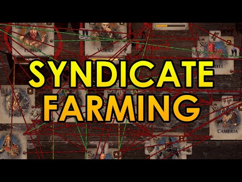 How to Farm Syndicate Safehouses for 500 Chaos per Hour - Path of Exile Currency Farming Guide