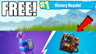 How To Get FREE FORTNITE SKIN - BACK BLING BACKPACK! FREE BATTLE STARS! Fortnite Battle Royale