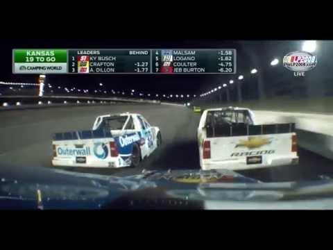 2014 SFP 250 at Kansas Speedway - NASCAR Camping World Truck Series [HD]