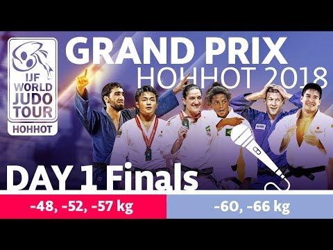 Judo Grand-Prix Hohhot 2018: Day 1 - Final Block