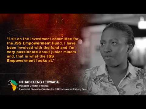 Mining Indaba 2017: Nthabeleng Ledwaba - Investment Committee Member for JSS Empowerment Mining Fund