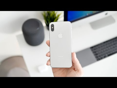 iPhone X w