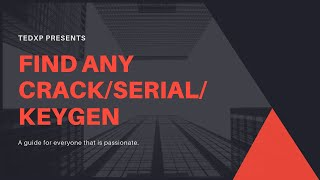 Find Any Crack /Serial/Keygen