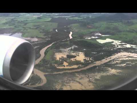 Atterrissage Nouméa la Tontouta Aircalin A330-200