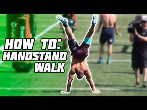 HOW TO - HANDSTAND WALK and become PROFICIENT!!!